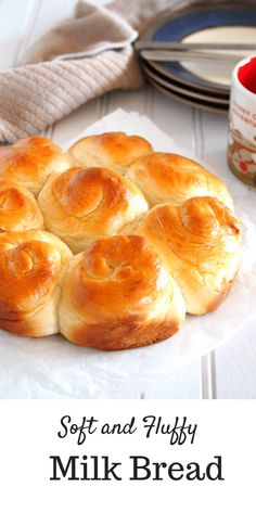 This Milk Bread is a delight! It is a simple recipe for a bread dough that yield… This Milk Bread is a delight! It is a simple recipe for a bread dough that yields soft and slightly sweet bread that is perfect on its own or with a pat of butter. Bread Machine Recipes, Bread Recipes, Baking Recipes, Dessert Recipes, Recipe For Milk Bread, Dinner Recipes, Recipes With Milk, Simple Sweet Bread Recipe, Amish Sweet Bread Recipe