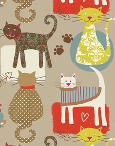 Looks like a cat tapestry (catapestry:-)