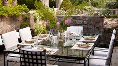 Patio - gorgeous dining patio | M.Frederick Interiors