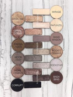 URBAN DECAY NAKED 2 PALETTE DUPES WITH MAKEUP GEEK EYESHADOWS #CastorOilEyelashes