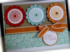 Me, My Stamps and I: Delicate Doilies