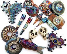 MAKUstudio - raku jewelry