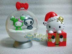 RARE! 2011 HK 7-11 X Sanrio Hello Kitty X Tokidoki (X'MAS Special Edition Set)