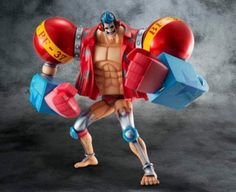 ONE PIECE P.O.P. SA-MAXIMUM FRANKY ARMORED