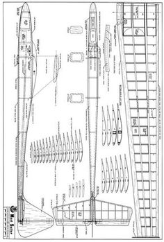 The Maxi Sailor Plan2bit is one of the model airplane plans available for download and printing.