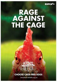 Rage Against the Cage! #hensdeservebetter