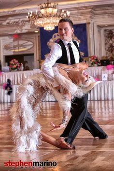 Andre and Natalie Paramonov - classy couple!!