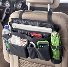 High Road make a fantastic range of high quality interior car accessories. The High Road XL Swingaway organiser is a larger version of the standard swingaway and gives your mobile phone, GPS, directions, mail and other important items a home of their own in the car - all in easy reach.