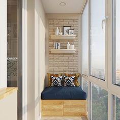 Интерьер для молодой семьи - Дизайн интерьеров | Идеи вашего дома | Lodgers Small Balcony Decor, Balcony Design, Balcony Ideas, Cosy Corner, Study Rooms, Elegant Living Room, Interior Decorating, Interior Design, Furniture