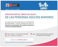 IMPORTANTE EVENTO EN PARANINFO DEL MINSA | Central Informativa del Adulto Mayor