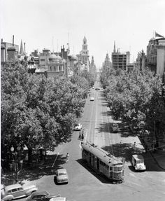 Collins St, from Spring St 1950