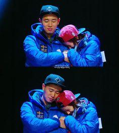 Song Ji Hyo and Kang Gary, Running Man ep. 183. © on pic