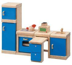 Plan Toys Dollhouse Kitchen-Neo #plantoys #dollhouse #woodtoys