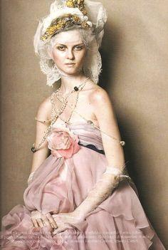 vogue italia couture march '05