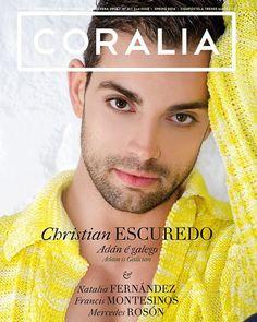 Second issue primavera spring CORALIA magazine Christian Escuredo Miranda Priestly, Four Square, Spring, Editorial, Christian, Celebrities, Magazine, Santiago De Compostela, Journals