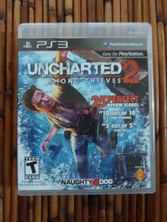 Uncharted 2 Among Thieves PS3 Complete w/ Manual Video Game Never Played #playstation3 #ps3 #ebay