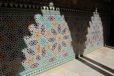 Antonio Lozano (@cord7oba) / Twitter Wainscoting Bathroom, Sun Shade, Seville, Light And Shadow, Mosaic Tiles, Fountain, This Or That Questions, Stars, Sevilla
