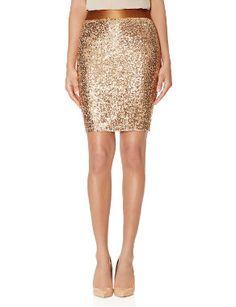 Sequin+Skirt