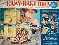I had no idea that the Easy Bake Oven had been around so long! It was first introduced in 1963!