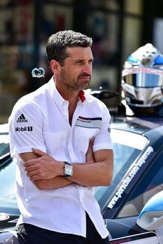 Patrick & Porsche Patrick Dempsey Racing, Bellisima, Race Cars, Beautiful Men, Porsche, Eye Candy, Dads, Handsome, Actors