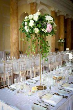 centre floral de table mariage