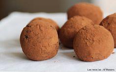 Las recetas de Masero: Trufas de galleta y dulce de leche
