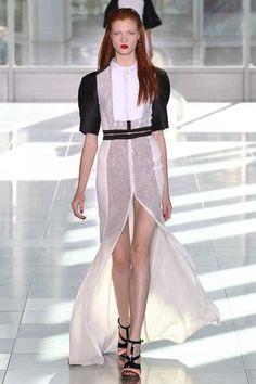 #LFW - Runway: Antonio Berardi Spring 2014 Ready-to-Wear Collection #antonioberardi