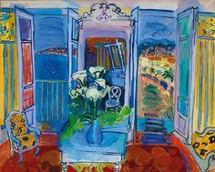 Raoul Dufy (1877-1953): Interior, 1905