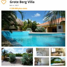 #curacao #villa #townhouse #houseforsale  Grote Berg Villa  Visit http://orange-real.estate to see our other Villa's and Townhouses for Sale in Sunny Curacao.