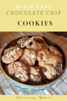 These cookies are a breeze to whip up, all you need is a spoon and bowl. My eldest regularly makes them all by herself, and only needs me to put them in and take them out of the oven. She loves them so much in fact, that she is already daydreaming about teaching her hypothetical children how to make them. Easy Chocolate Chip Cookies, White Chocolate Chips, Breeze, Spoon, Oven, Vegetarian, Treats, Teaching, Baking