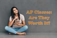 With the new school year upon us, it's time to start thinking about which classes really matter- especially if you're still in High School. Check out this quick pro's & con's list to get a few ideas on if AP Classes are worth it for you. The New School, New School Year, In High School, Pros And Cons List, University Tips, Check, Ideas, Thoughts