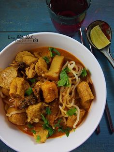 how to cook curry mee