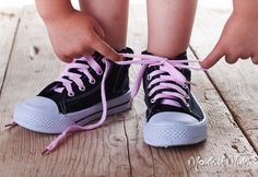 How to teach your child to tie their shoelaces