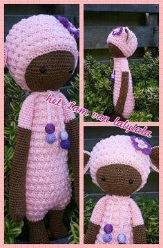 LUPO the lamb made by Rina B. / crochet pattern by lalylala