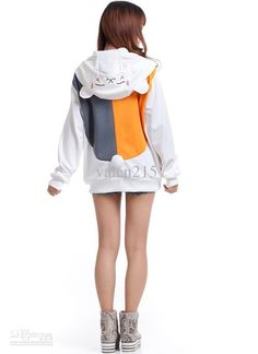 2017 Natsumes Book Of FriendsThe Cat Teacher Cosplay Costume Hoodie From Valen215 398