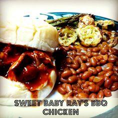 Foodie Fridays - Sweet Baby Ray's Barbeque Chicken @ http://hickoryridgestudio49.blogspot.com