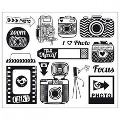 Tampons Acrylique - Photo Tampons Transparents, Clip Art, Scrapbooking, Pocket Letters, Zoom Photo, Scrapbook Embellishments, Paris Photos, Doodle Drawings, Digi Stamps