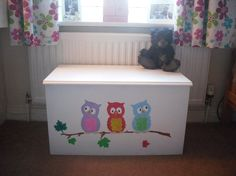 Owl Wall Stencil, Owl Stencils, Woodland Nursery Stencils, Childrens Bedroom…