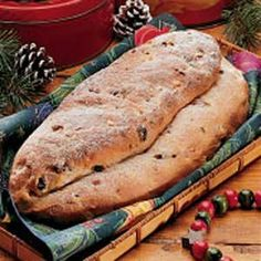 German Stollen - this recipe looks close to what I remember Mom making. not too much of that candied fruit. Stollen Bread, German Stollen, Stollen Recipe, Holiday Bread, Christmas Bread, Christmas Cooking, German Christmas, Christmas Foods, Christmas Pudding