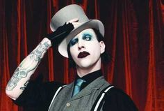 Marilyn Manson. THE Angel or Antichrist for some. I've been listening to him since I'm 10 and still love him.