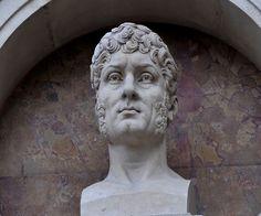 Étienne-Nicolas Méhul (1763-1817), bust (1869), by Séraphin Denécheau (1831-1912).