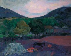 Paul Gauguin, Landscape with Dog, 1903