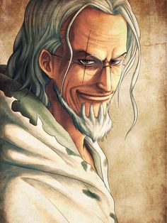 Silvers Rayleigh - One Piece,Anime
