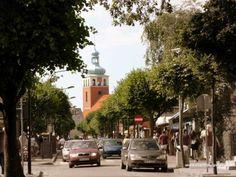 JASTARNIA Baltic Sea, Cities, Sweet Home, Street View, Polish, Mansions, House Styles, Vitreous Enamel, House Beautiful