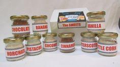 Popcorn Seasoning SWEET Gourmet ~ Personalized Old Movie Reel Gift Box ~ Christmas, Hanukkah, Birthday, Gift Exchange, Corporate Client
