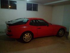 Porsche 944 such a ride. Porsche 944, My Ride