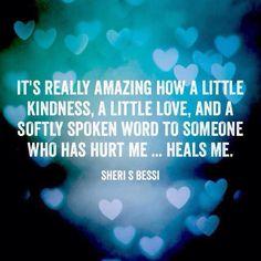 Heals me