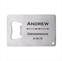 25 of Personalized Stainless Steel Credit Card by lazerdesigns