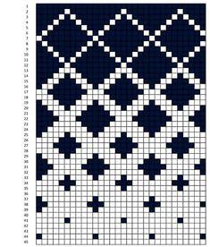 Tapestry Crochet Patterns, Fair Isle Knitting Patterns, Crochet Stitches Patterns, Knitting Charts, Weaving Patterns, Knitting Stitches, Embroidery Patterns, Cross Stitch Patterns, Crochet Diagram