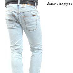 Nudie Jeans(ヌーディージーンズ)デニムパンツ THIN FINN ORG.BLEACHED JEAN【送料無料】 dm-nude-182